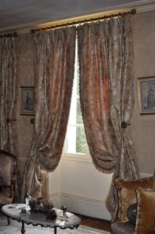 rideaux voilages et double rideaux sur mesure atelier secrea. Black Bedroom Furniture Sets. Home Design Ideas