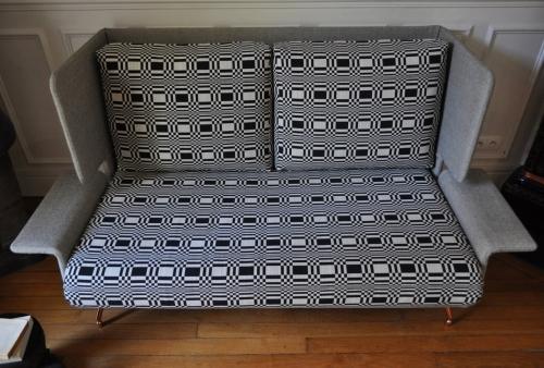 canap s banquettes et m ridiennes atelier secrea. Black Bedroom Furniture Sets. Home Design Ideas