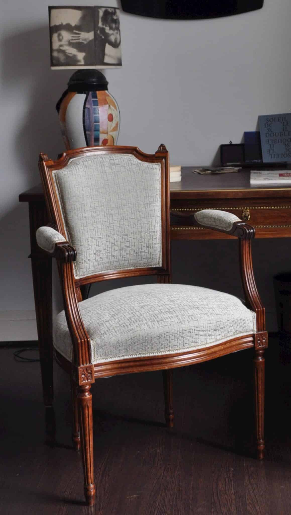 Refaire Un Fauteuil Louis Xvi réfection d'un fauteuil cabriolet d'époque louis xvi