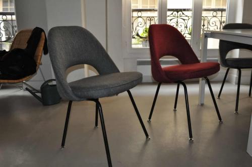 refection de chaises et de tabourets atelier secrea. Black Bedroom Furniture Sets. Home Design Ideas