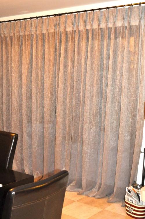 Rideaux voilages et double rideaux sur mesure atelier - Rideaux sur mesure occultant ...