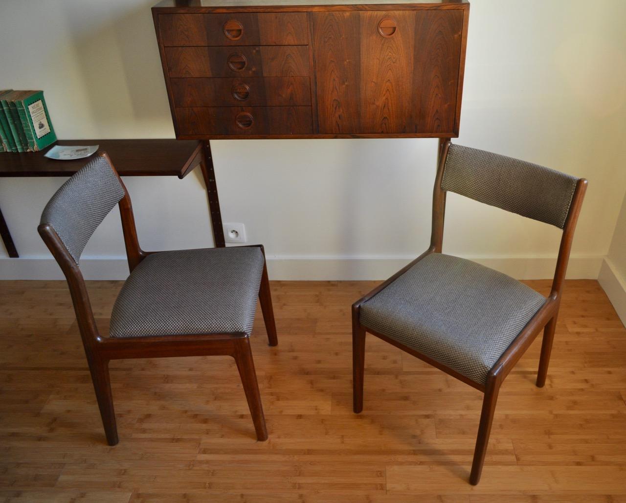 chaises de johannes andersen design danois atelier secrea. Black Bedroom Furniture Sets. Home Design Ideas